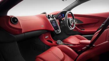 McLaren 570GT 2016 - interior