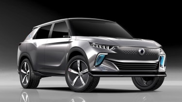 SsangYong e-SIV concept - front static