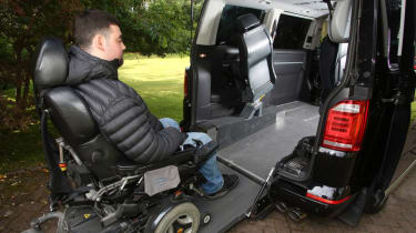 Disability driving feature - VW loading driver