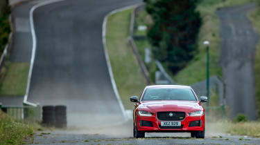 Jaguar XE at Cleremont Ferrand