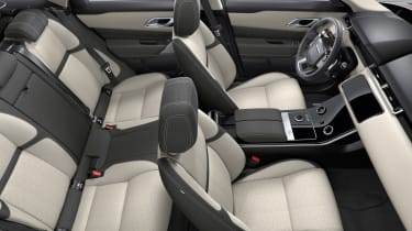 Range Rover Velar - interior overhead cream