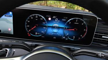 Mercedes GLE - dials
