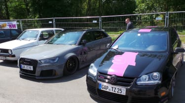 Mk5 GTI and Audi RS3