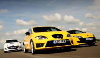 SEAT Leon Cupra R test