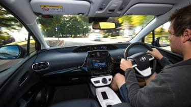 Toyota Prius long-term test - final report interior