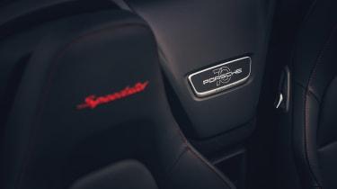 Porsche 911 Speedster - plaque