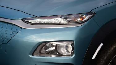 Hyundai Kona Electric - front light