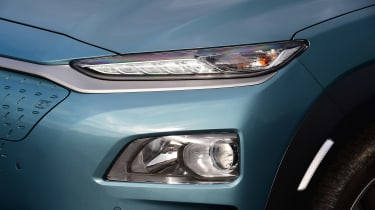 Hyundai Kona Electric - front light