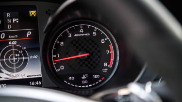 Mercedes-AMG GLC 43 Coupe  dials