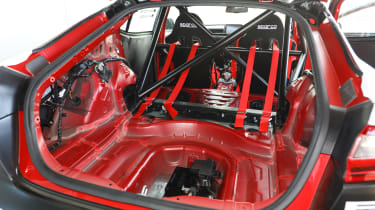 Kia Stinger GT420 - rear roll cage