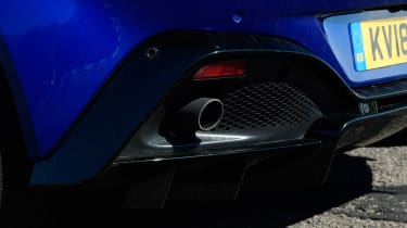 Aston Martin Vantage - exhaust
