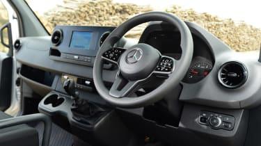 Mercedes Sprinter Van of the Year 2018 interior