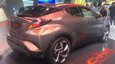 Toyota C-HR Hy-Power - Frankfurt rear