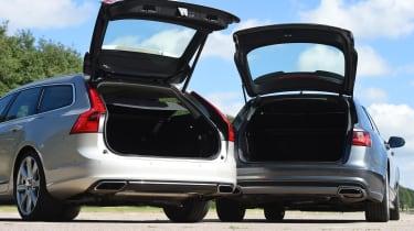 Volvo V90 vs Audi A6 Avant - boot