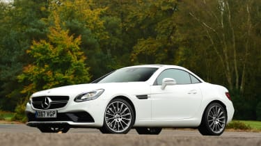 Mercedes SLC 180 - front static