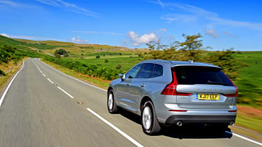 Volvo XC60 - rear tracking