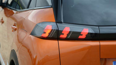 Peugeot 2008 - rear lights