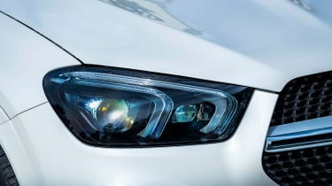 Mercedes GLE Coupe twin test - headlight