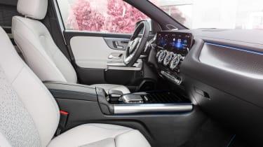 Mercedes EQA - front seats