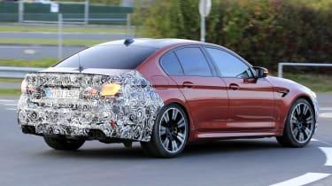 BMW M5 facelift - spyshot 6