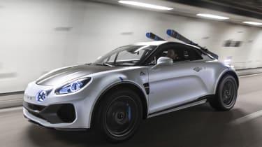 Alpine A110 SportsX - tracking