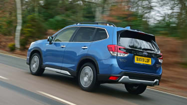 Subaru Forester 2020 in-depth review - rear tracking