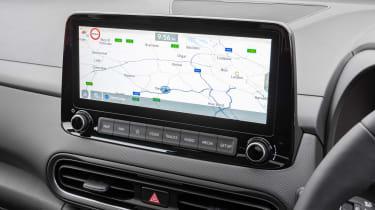 New Hyundai Kona Hybrid 2021 review - screen