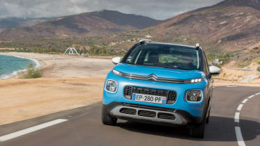 Citroen C3 Aircross - full front action