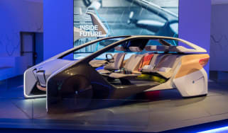 BMW HoloActive touch concept - front
