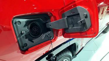 Toyota RAV4 Prime PHEV - Los Angeles charging port