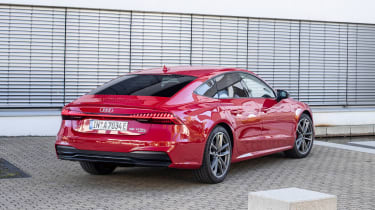 Audi A7 Sportback 55 TFSI e - rear static