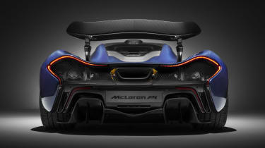 McLaren Special Operations P1 - full rear