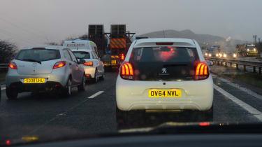 Ford Mondeo Vignale road trip - Edinburgh traffic