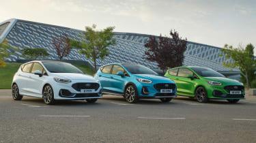 Ford Fiesta facelift - range