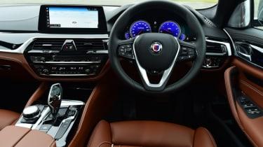 Alpina D5 S interior
