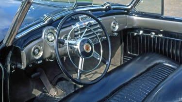 Buick Y-Job - interior