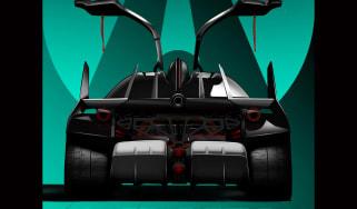 Ariel Hipercar rear teaser