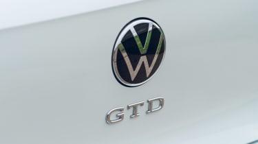 Volkswagen Golf GTD - GTD badge