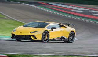 Lamborghini Huracan Performante 2017 review front