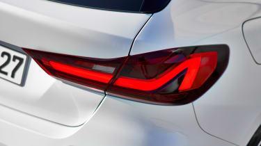New BMW 1 Series 2019 rear light