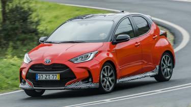 2020 Toyota Yaris - front cornering