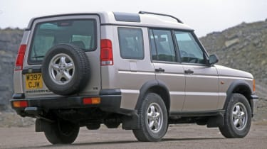 Land Rover Discovery 2 rear