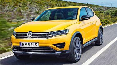 Volkswagen Polo SUV - exclusive image