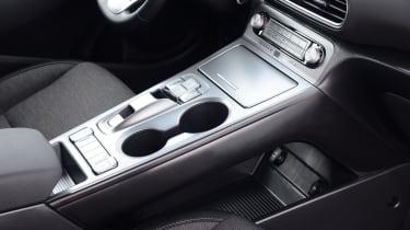 Hyundai Kona electric cup holders