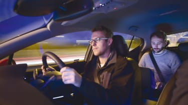 Vauxhall Astra driving interior