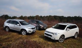 Mitsubishi Outlander vs rivals