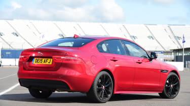 Jaguar XE rear 3/4
