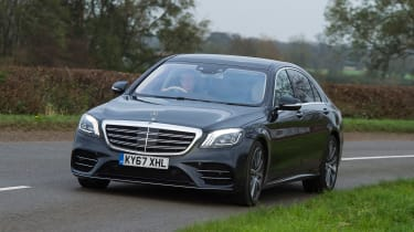 Mercedes S-Class - front action