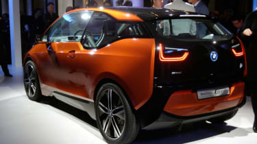 BMW i3 Coupe rear
