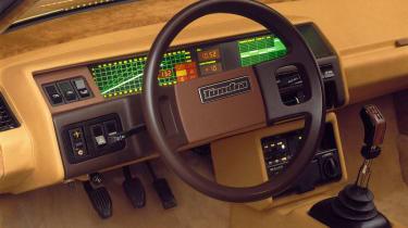 Volvo Tundra - interior